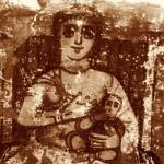 Iside con in braccio suo figlio Horus