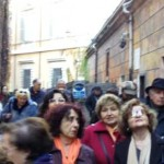 """Domenica 9 gennaio eccoci di fronte al Teatro """"fantasma"""""""