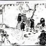 Vignetta di Antonio Possenti del 1970: Cento anni dopo.