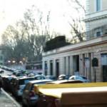 Via di Monte Brianzo dove il popolo di Roma attendeva le decisioni dell'Assemblea