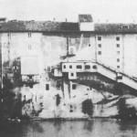 Il Teatro di Tor di Nona in una foto di metà 800