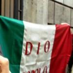 Apriamo la bandiera della Repubblica Romana sotto la lapide di Angelo