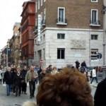 Verso dove era la casa in cui nacque Ernesto Buonaiuti