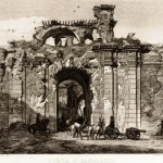 I ruderi di Porta San Pancrazio