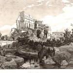 I ruderi della Villa del Vascello