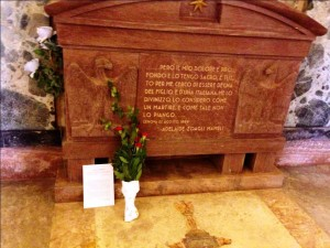 La tomba di Mameli e le parole di sua madre