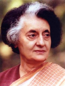 Indira Gandhi (1917- 1984)